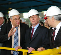 Members of Russian government at Vladimir P. Pastukhov